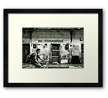 Nothing of interest here... Framed Print