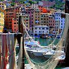 Camogli harbor  by annalisa bianchetti