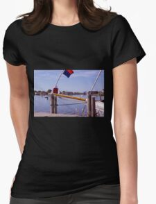 Late Summer Serenity Womens Fitted T-Shirt