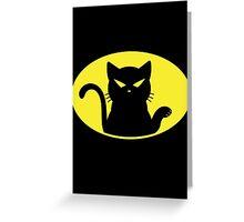 Catman Greeting Card