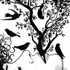 mind birds by Loui  Jover