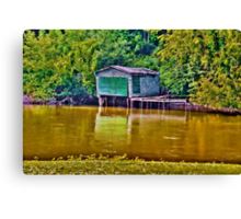 The Old Boathouse Canvas Print