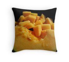 Cantalope Throw Pillow
