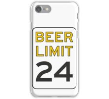 Beer Limit iPhone Case/Skin