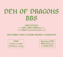 DEN OF DRAGONS BBS One Piece - Short Sleeve