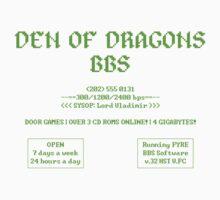 DEN OF DRAGONS BBS Baby Tee