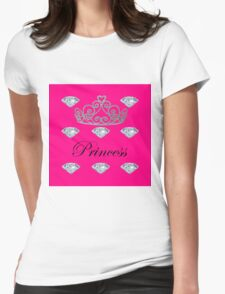 Princess 2  Womens Fitted T-Shirt