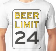 Beer Limit Unisex T-Shirt