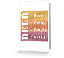 Beer #2 Greeting Card