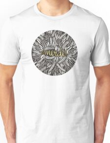 Pardon My French – Gold on Black Unisex T-Shirt