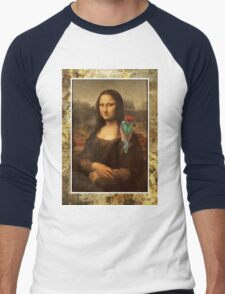 Mona Lisa With Parrot T-Shirt