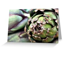 Artichoke hearts Greeting Card