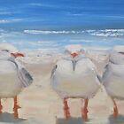 By the sea by Tash  Luedi Art