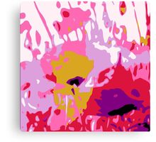 POPPY SPLAT Canvas Print