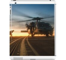 MH-60S Seahawk Helicopter iPad Case/Skin