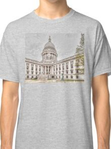 Wisconsin State Capitol Building Classic T-Shirt