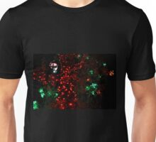 Red Christmas lights (Tree) Unisex T-Shirt