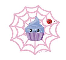 Sugarspider Cupcake Photographic Print