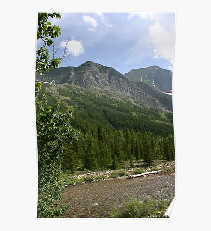 Waterton Lakes National Park Poster