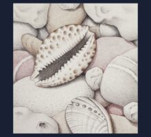 Pebbles, Cowrie & Abalone Shells Kids Clothes