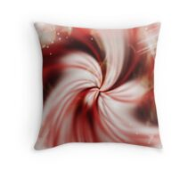 Candy Kisses Throw Pillow