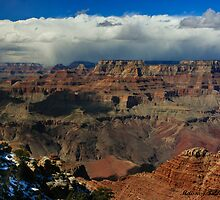 Storm On The South Rim by Melissa Seaback
