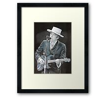 Mr Tambourine Man Framed Print
