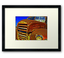 Red Bullet.... Framed Print