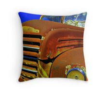 Red Bullet.... Throw Pillow