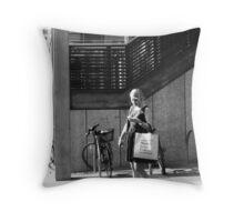 Market Lane Coffee II Throw Pillow