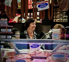 Vic Market Deli lady by Gillian Anderson LAPS, AFIAP