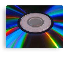 DVD sparkles... Canvas Print