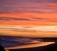 Redhead sunset by Anna D'Accione