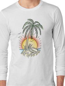 Summer Beach Island Long Sleeve T-Shirt