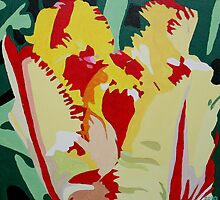 Parrot tulip by Marjolein