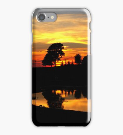 I say goodbye to my favorite time of the day..Watch the sun drop and the dusk fade..Another two dozen hours go by and times going quicker at 45 iPhone Case/Skin