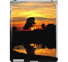 I say goodbye to my favorite time of the day..Watch the sun drop and the dusk fade..Another two dozen hours go by and times going quicker at 45 iPad Case/Skin