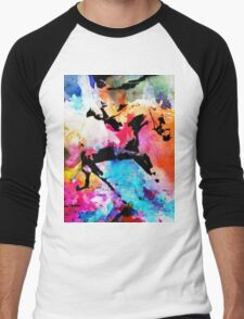 Run away Men's Baseball ¾ T-Shirt
