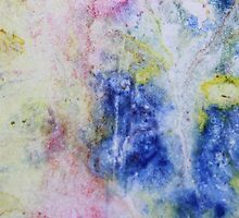Paper marbling by Marjolein