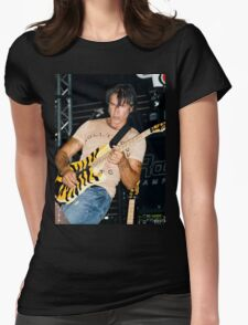 George Lynch of Dokken Womens Fitted T-Shirt