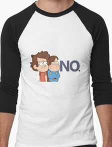 Gravity Falls - NO. Men's Baseball ¾ T-Shirt