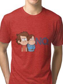 Gravity Falls - NO. Tri-blend T-Shirt