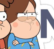Gravity Falls - NO. Sticker