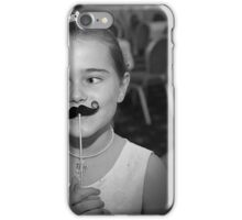 Mustache You A Question.. iPhone Case/Skin