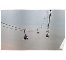Ngong Ping Cable Car Poster