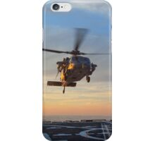 MH-60S Seahawk Helicopter iPhone Case/Skin