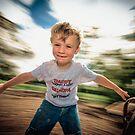 ...spinning around... by Geoffrey Dunn
