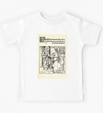 The Wonder Clock Howard Pyle 1915 0215 The Princess Cometh Into Wonderful Country House of Strange Old Woman Kids Tee