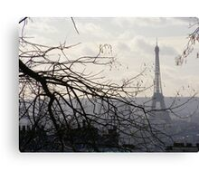 Eiffel Tower - Paris landscape Canvas Print