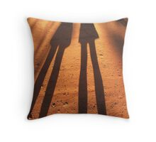 Shadow of Ourselves Throw Pillow